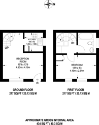 Large floorplan for Manor Vale, Brentford, TW8