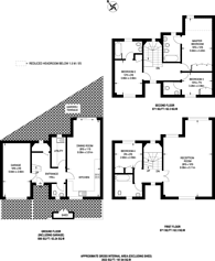 Large floorplan for Castellain Road, Maida Vale, W9