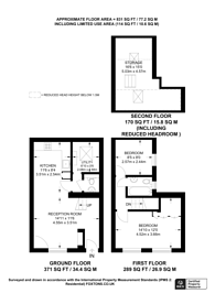 Large floorplan for Ryders Terrace, St John's Wood, NW8