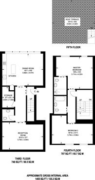 Large floorplan for Great Titchfield St, Fitzrovia, W1W