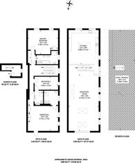 Large floorplan for Lyall Street, Belgravia, SW1X