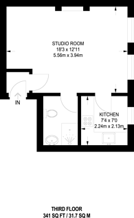 Large floorplan for Nottingham Place, Marylebone, W1U