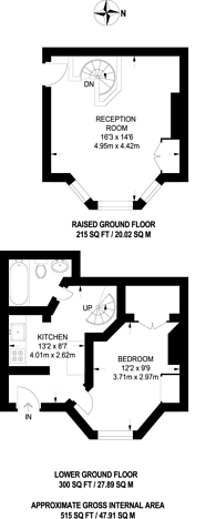 Large floorplan for Schubert Road, East Putney, SW15