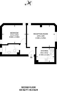 Large floorplan for Rickmansworth Road, Pinner, HA5