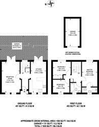 Large floorplan for Lockesfield Place, Canary Wharf, E14