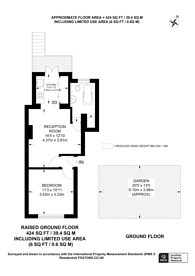 Large floorplan for Westbourne Park Road, Notting Hill, W11