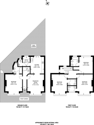 Large floorplan for Caledonian Road, Hillmarton Conservation Area, N7