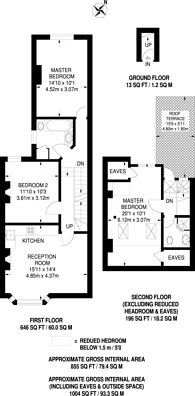 Large floorplan for Purves Road, Kensal Rise, NW10