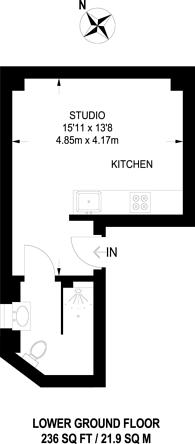 Large floorplan for Portman Square, Marylebone, W1H