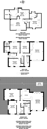 Large floorplan for Arthur Road, Wimbledon, SW19
