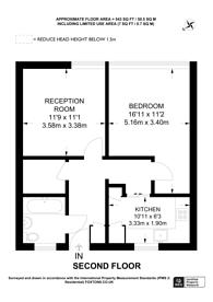 Large floorplan for Upnor Way, Elephant and Castle, SE17