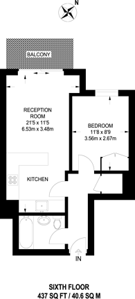 Large floorplan for Aerodrome Road, Colindale, NW9