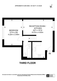 Large floorplan for Henriques Street, Spitalfields, E1