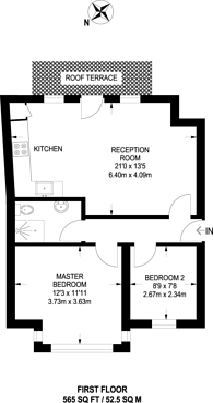 Large floorplan for Endlesham Road, Balham, SW12