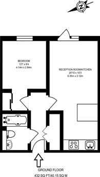 Large floorplan for Conington Road, Lewisham, SE13