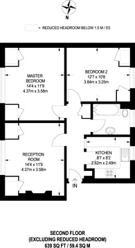 Large floorplan for Bromley Road, Bromley, BR1