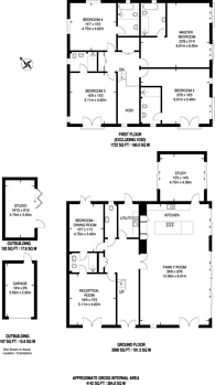 Large floorplan for Winchester Close, Kingston, KT2