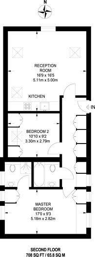 Large floorplan for Stanley Gardens, Acton, W3