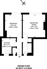 Large floorplan for Peckham Rye, Peckham Rye, SE15