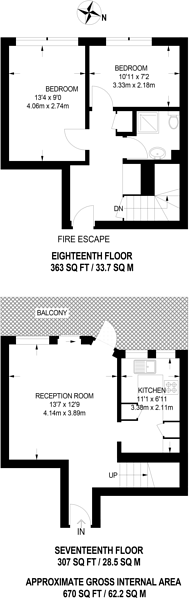 Large floorplan for Notting Hill Gate, Notting Hill, W11