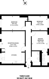 Large floorplan for Great Sutton Street, Clerkenwell, EC1V