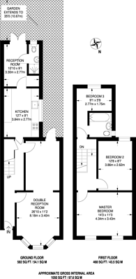 Large floorplan for Arundel Road, Croydon, CR0