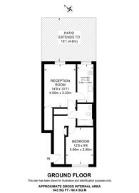 Large floorplan for Millman Street, Bloomsbury, WC1N