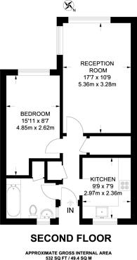 Large floorplan for Woodland Grove, Greenwich, SE10