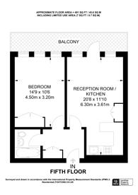 Large floorplan for New Cavendish Street, Fitzrovia, W1W
