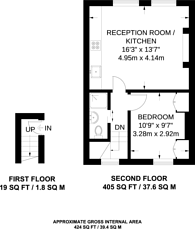 Large floorplan for Harewood Avenue, Marylebone, NW1
