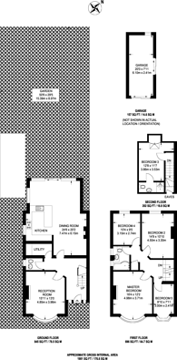 Large floorplan for Annesley Road, Blackheath, SE3