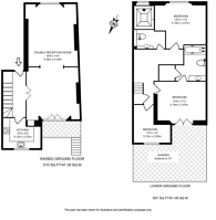 Large floorplan for Horbury Crescent, Notting Hill, W11