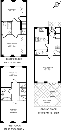 Large floorplan for Goddard Place, Tufnell Park, N19