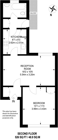 Large floorplan for Constantine Road, Hampstead, NW3