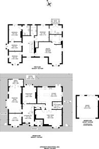 Large floorplan for Ashcombe Avenue, Surbiton, KT6