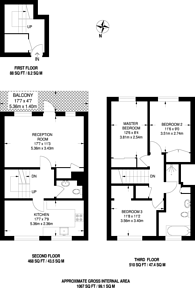 Large floorplan for Hulverston Close, Sutton, SM2