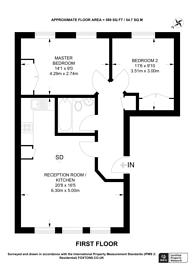 Large floorplan for Durnsford Road, Wimbledon Park, SW19