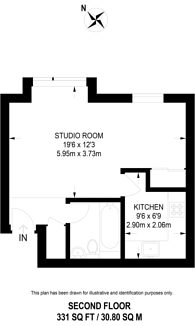 Large floorplan for Friars Avenue, Kingston Vale, SW15