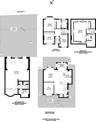 Large floorplan for Church Mount, Hampstead Garden Suburb, N2