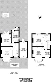 Large floorplan for College Hill Road, Harrow Weald, HA3