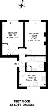 Large floorplan for Notting Hill Gate, Notting Hill Gate, W11