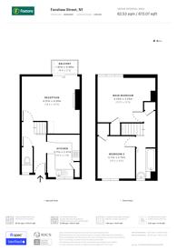 Large floorplan for Fanshaw Street, Islington, N1