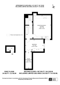 Large floorplan for Berkhamsted Avenue, Wembley, HA9