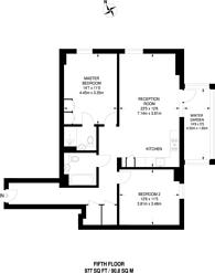 Large floorplan for Battersea Exchange, Battersea, SW8