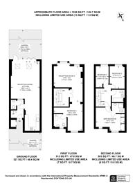 Large floorplan for Samuel Gray Gardens, Kingston, KT2