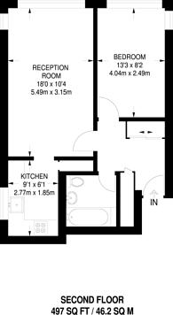 Large floorplan for Westbourne Park Road, Westbourne Park, W2