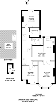 Large floorplan for St Kildas Road, Stoke Newington, N16