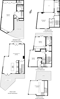 Large floorplan for King Stairs Close, Rotherhithe, SE16