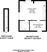 Large floorplan for Home Park Road, Wimbledon Park, SW19