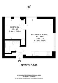 Large floorplan for Nell Gwynn House, Chelsea, SW3